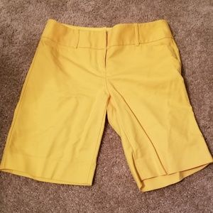 The Limited Outback Red Long Bermuda Shorts Size 0